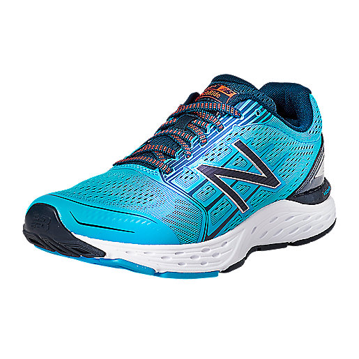 a8618f280c8f Chaussures de running homme M680 D Multicolore 6538616 NEW BALANCE