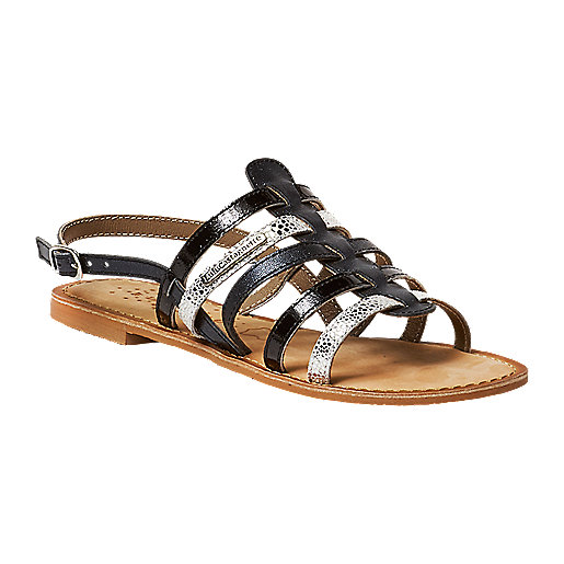 check out 57f3e a00f4 Sandales femme Lalage Multicolore 6826005 LULU CASTAGNETTE