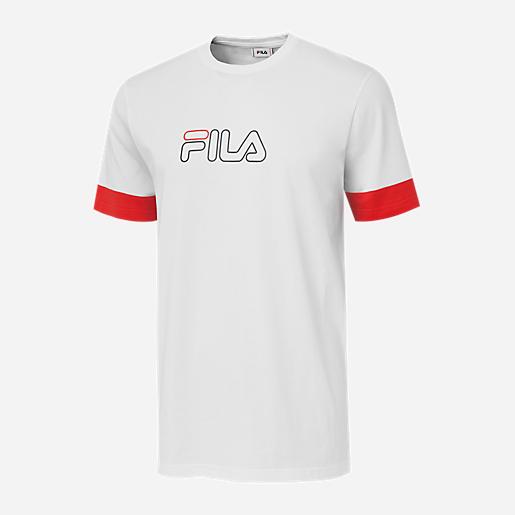 emballage fort en ligne ici les mieux notés T-shirt manches courtes homme Naoki Logo FILA