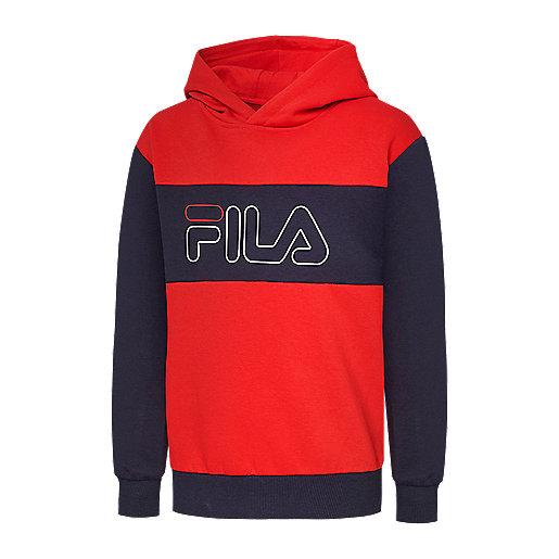 style attrayant 50% de réduction matériaux de haute qualité Sweatshirt à capuche enfant Hugo FILA