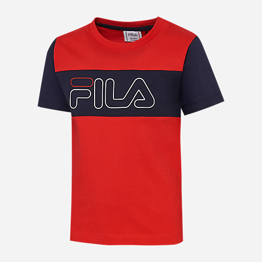 trouver le travail 100% authentique parcourir les dernières collections T-shirt manches courtes enfant Nicolas FILA
