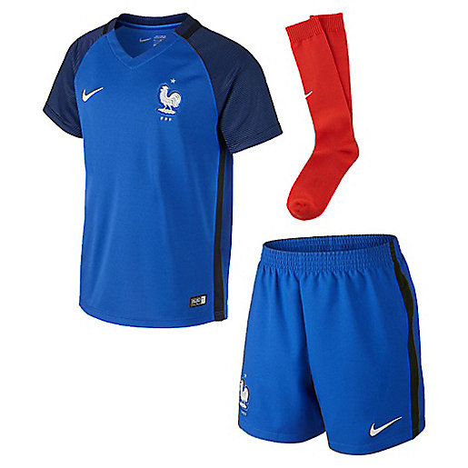 uk cheap sale new product outlet boutique Maillot football enfant Minikit Fff Domicile NIKE