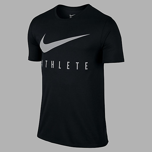 T-shirt De Training Manches Courtes Homme Swoosh Athlete NIKE ... 3fa62170679