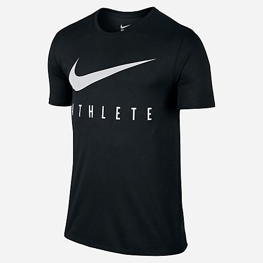 Shirt Swoosh Courtes Manches De Athlete Nike Homme T Training RYAdnPORq