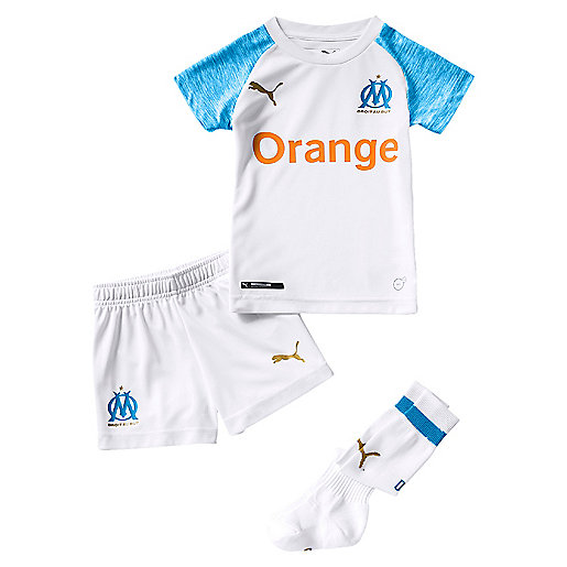 Tenue de football bébé OM Replica Domicile 2018/2019 Multicolore 753554  PUMA