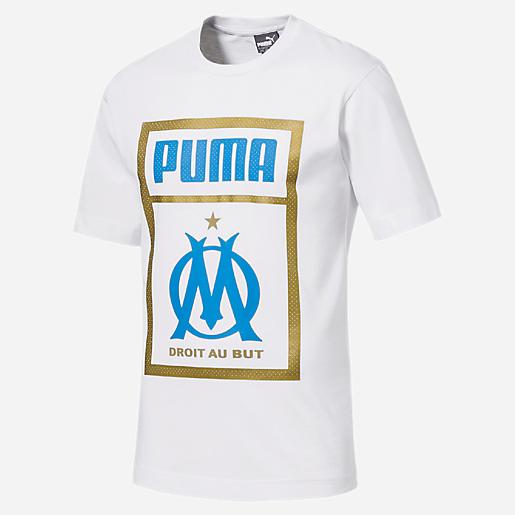 la meilleure attitude e92f3 47a04 T-shirt Manches Courtes Homme OM 18/19 PUMA   INTERSPORT