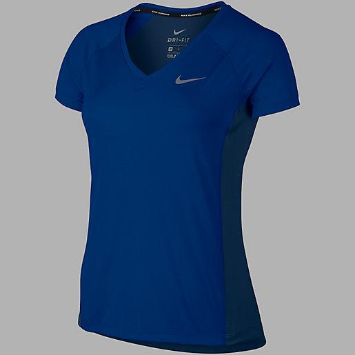 T shirt de running manches courtes femme Dry Miler NIKE