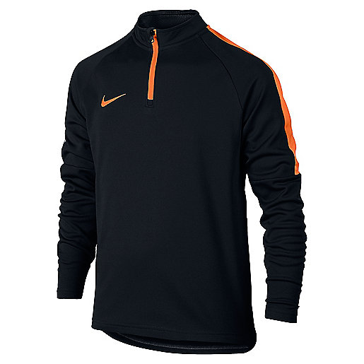 save off 44d1f fdba0 Haut dentraînement football zippé manches longues enfant Drill Top Academy  839358 NIKE