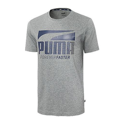 9f537c14d9c79 T-shirt manches courtes homme Graphic Multicolore 8436940 PUMA