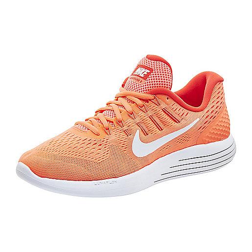 Chaussures de running femme Lunarglide 8 Orange-Rose 843726 NIKE ca89ec0645e1