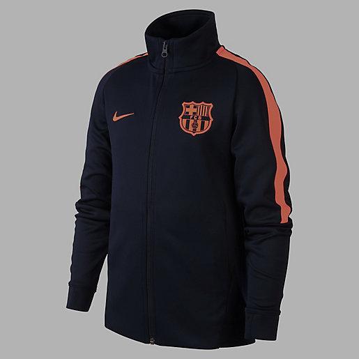 Football Zippée D'entraînement Fc Veste Enfant Nike Barcelone UMVLGzpqS