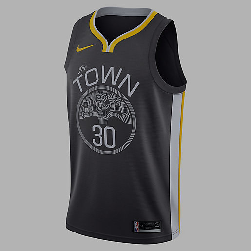 Maillot homme Golden State Warriors Stephen Curry Statement Edition Swingman Jersey Alt1 NIKE