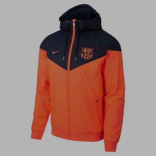 Nike Windrunner Authentic D'entraînement Barcelone Veste Fc Football Homme OwwY0q