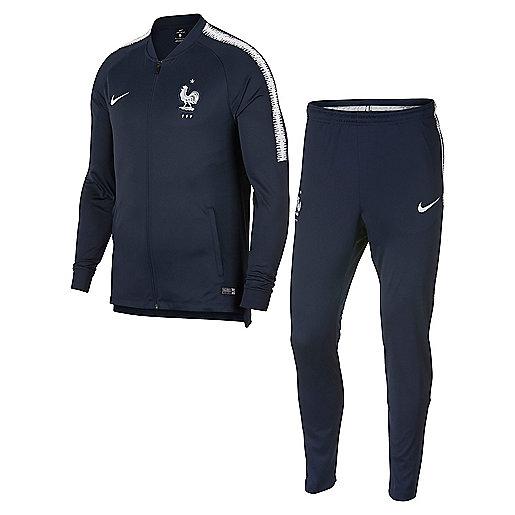 Ensemble survêtement football homme France Dri-fit Squad Multicolore 893384  NIKE 3fba6b8200e7