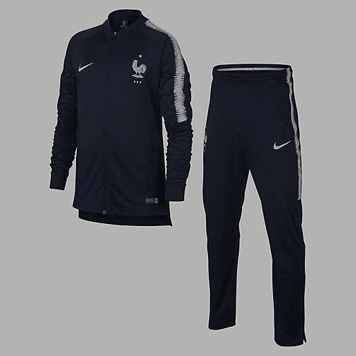 2230f7f887 Ensemble survêtement d'entraînement football enfant Equipe de France 2018  NIKE