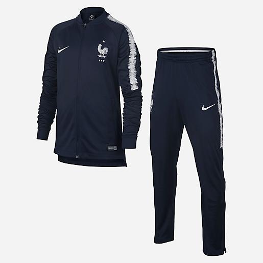 Ensemble survêtement d entraînement football enfant Equipe de France 2018  NIKE 0a4ccaf7a4f6