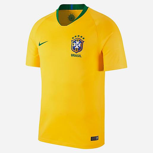 e9ea0ff034 Maillot De Football Homme Équipe Du Brésil Domicile NIKE | INTERSPORT