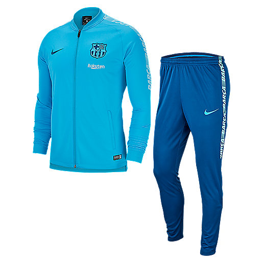 c5a599cd2be3d Ensemble survêtement football homme FC Barcelone Dry Squad Multicolore  894341 NIKE