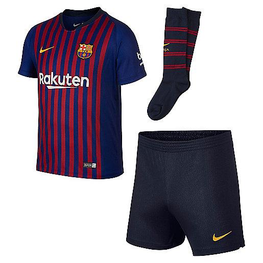 hot sale online a4015 461fa Maillot de football enfant FC Barcelone domicile Multicolore 894479 NIKE