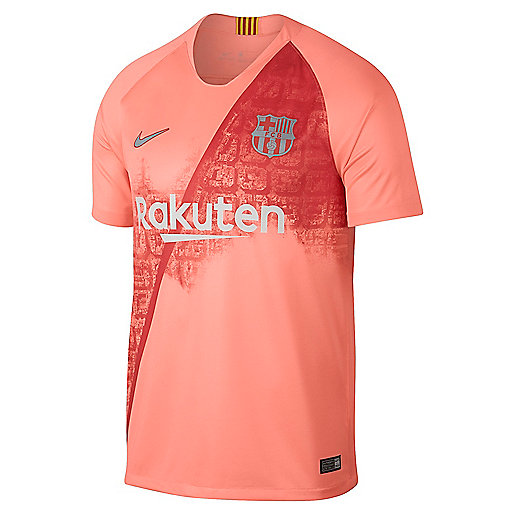 Maillot de football homme FC Barcelone Replica Third 2018 2019 Multicolore  918989 NIKE fac0be45f137