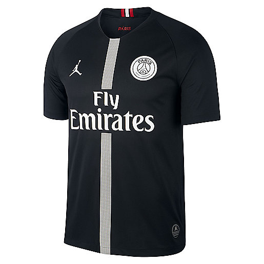 9b195a4e6ccf9 Maillot de football homme PSG Replica Third 2018 2019 Multicolore 919010  NIKE