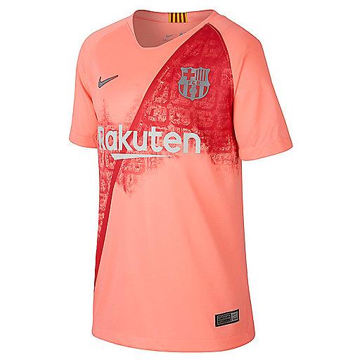 cheap for discount 889f0 45b7b Maillot de football manches courtes enfant Breathe FC Barcelona Stadium  Multicolore 919235 NIKE