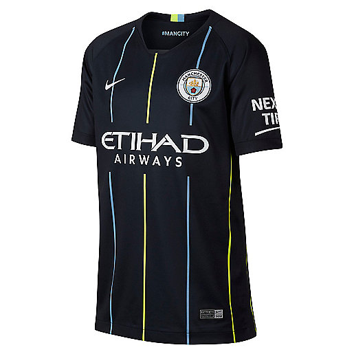 Maillot manches courtes enfant Breathe Manchester City FC Away Stadium multicolore 919246  NIKE