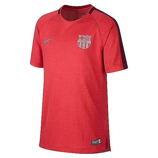 5af578231ce47 Haut d'entraînement football enfant FC Barcelone Multicolore 921186 NIKE