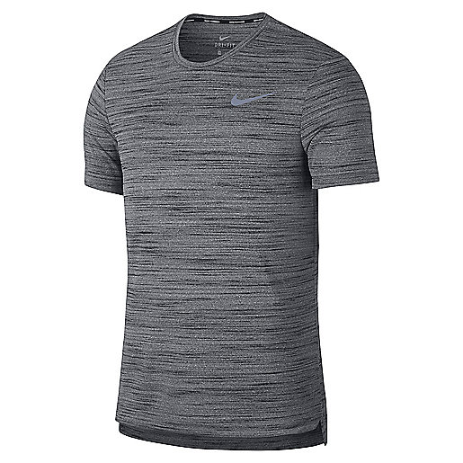 T-shirt de running manches courtes homme Miler Essential multicolore 928419  NIKE
