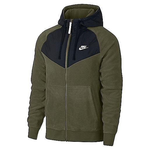 1b66e187e1 Veste zippée à capuche homme Sportswear Core Winter Multicolore 929114 NIKE