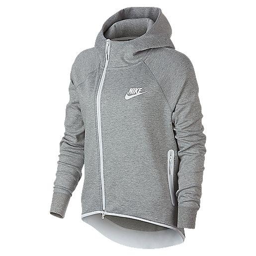 f9d513f65a269 Veste zippée à capuche femme Sportswear Tech Fleece Multicolore 930757 NIKE