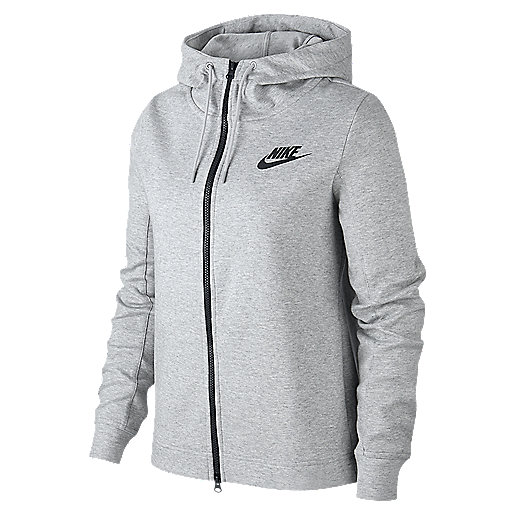 best sneakers d2052 18ed8 Veste zippée à capuche femme Sportswear Optic Fleece Multicolore 930899 NIKE
