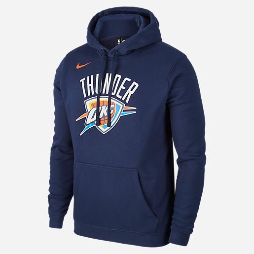 Basketball Hoodie Homme De Okc Nike Sweatshirt M Po Essntl Logo xF7w45qf