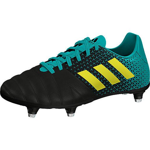11332e01dcdf2 Chaussures de rugby enfant All Blacks Junior Multicolore AC7721 ADIDAS