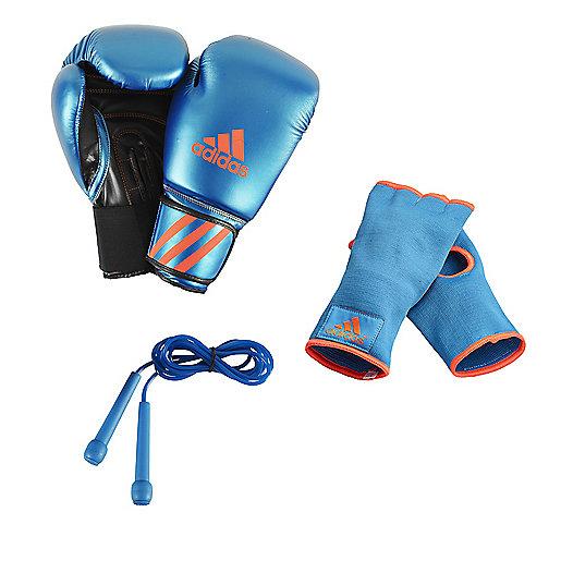 adba48d942246 Kit de boxe Bleu-Orange ADIKIT ADIDAS