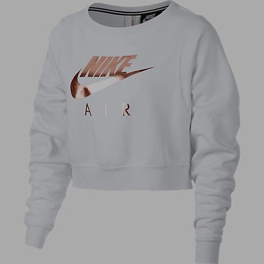 sweat shirt femme sportswear fleece crew nike