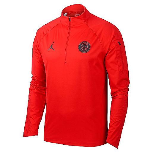 0325e3ee1e977 Haut d entraînement football homme PSG Shield Squad Dril Top Multicolore  AJ2317 NIKE