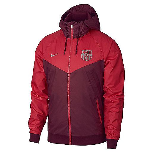 Veste en tissu homme FC Barcelone Windrunner Multicolore AJ3292 NIKE 350cc851a4c