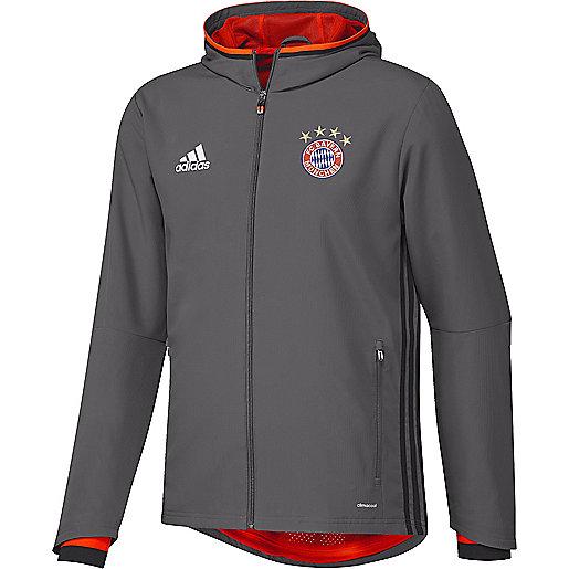 new concept size 40 buying cheap Sweatshirt football homme Veste De Présentation Fc Bayern Munich ADIDAS