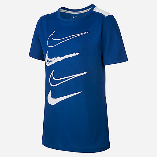 T-shirt Manches Courtes Col Rond Dri-Fit NIKE  db0d36d6282