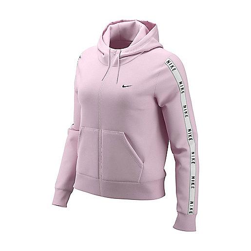 75757abf784 Veste femme Sportswear Hoodie Logo Tape Multicolore AR30561 NIKE