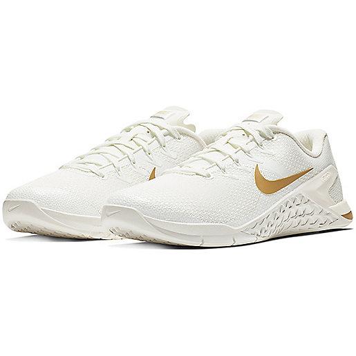 sports shoes c650f d1d62 Chaussures de training femme Metcon 4 Champagne Multicolore AV2141 NIKE