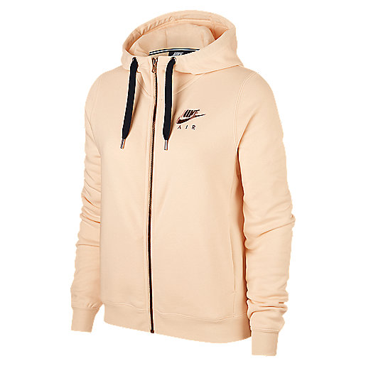 635bda5f82 Veste zippée à capuche femme Rally Hoodie Air Multicolore AV6229 NIKE