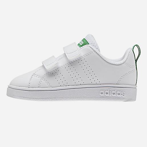 Chaussures adidas neo VS Advantage Clean CMF blanc vert bébé