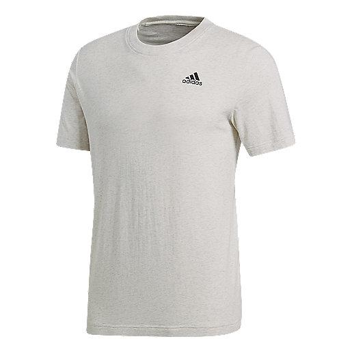 T-shirt manches courtes homme Esssential Base Blanc B47356 ADIDAS 8626f9a49b6e