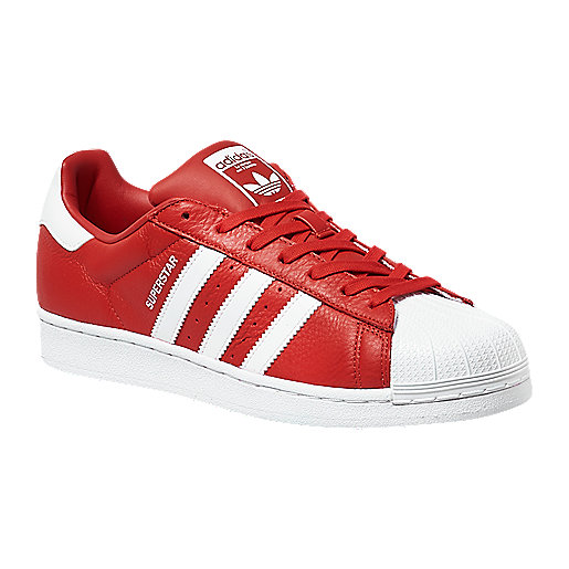 adidas superstar adulte blanche et rouge