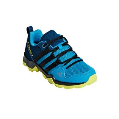 Adidas Garçons Terrex AX2R CF Chaussures de marche-Bleu Sports Extérieur Respirant