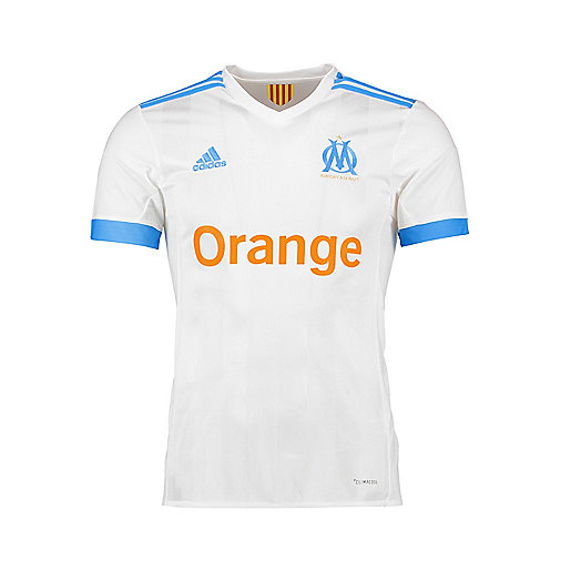 outlet store a41f4 1a770 Maillot de football homme OM Replica Domicile 2017 2018 BK5346 ADIDAS