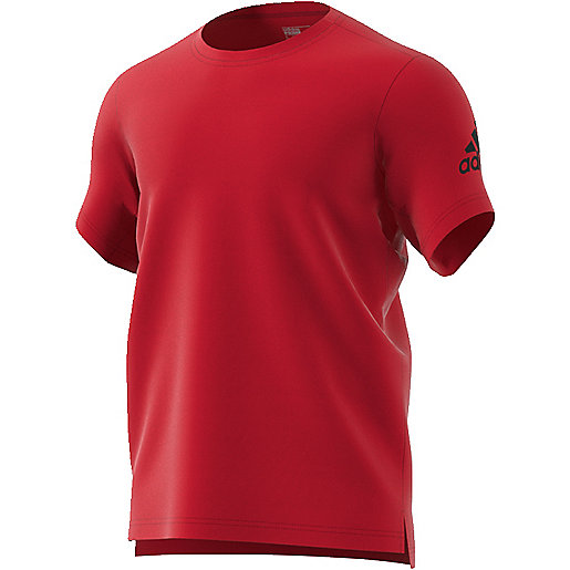 T-shirt de training manches courtes homme Freelift Prime rouge BK6087  ADIDAS