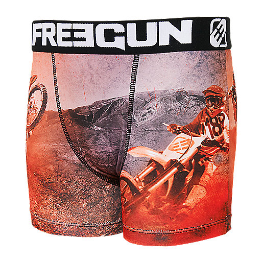 Lot de 2 boxers garçon Multicolore BMXH181 FREEGUN